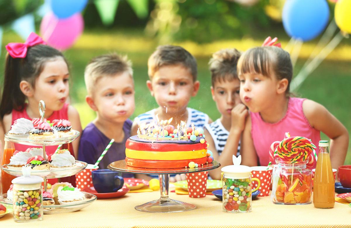 Organiser l'anniversaire de son enfant de 8 ans